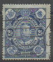 Premier timbre d'Afrique du Sud 1910