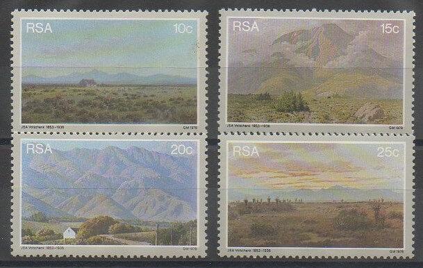 Timbres d'Afrique du Sud de 1978