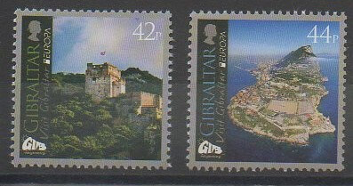 Série de timbres de collection de Gibraltar