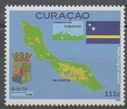 Timbre de Curaçao de 2010