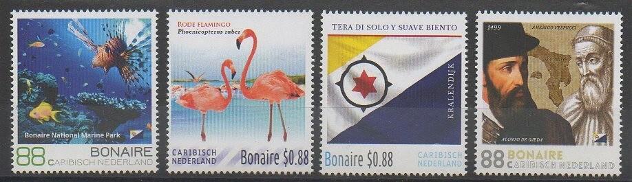 Timbres des îles Bonaire de 2016