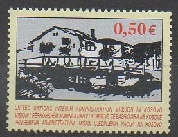Timbre du Kosovo - Administration des Nations Unies - 2004 - No 27