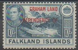 Timbres Terre Graham Antarctique britannique