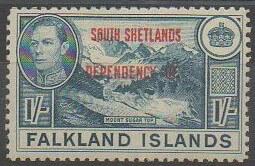 Timbre Antarctique britannique Shetland du sud