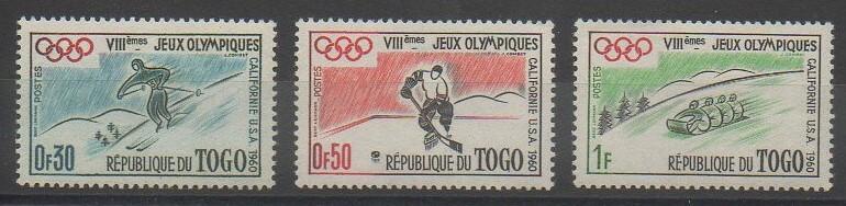 Timbres du Togo sur les jeux olympiques