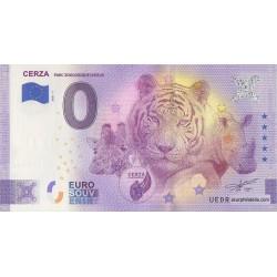 Euro banknote memory - 14 - Parc zoologique de Lisieux - 2021-7 - Anniversary