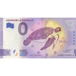 Euro banknote memory - 17 - Aquarium La Rochelle - 2021-5 - Anniversary