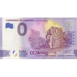Euro banknote memory - 13 - Carrières de Lumières - Cézanne - 2021-6 - Anniversary