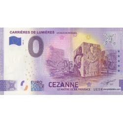 Euro banknote memory - 13 - Carrières de Lumières - Cézanne - 2021-6