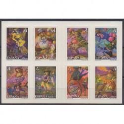 Spain - 2005 - Nb 3713/3720 - Circus or magic - Paintings