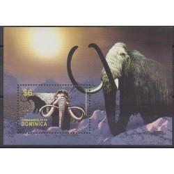 Dominique - 2005 - Nb BF501 - Prehistoric animals