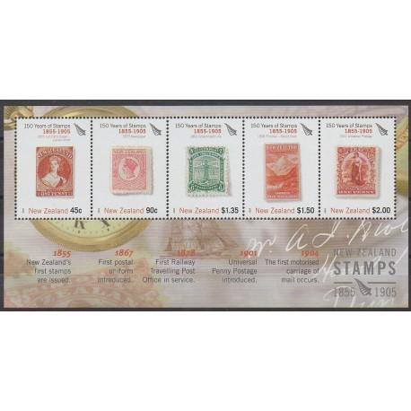 Nouvelle-Zélande - 2005 - No BF195 - Timbres sur timbres - Philatélie