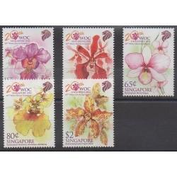 Singapour - 2011 - No 1871/1875 - Orchidées