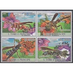 Saint-Thomas et Prince - 2009 - No 2920/2923 - Insectes