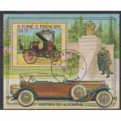 Saint Thomas and Prince - 1983 - Nb BF39 - Cars - Used