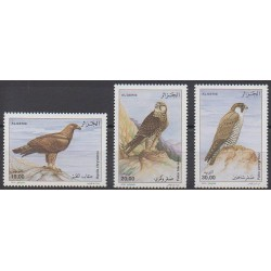Algeria - 2010 - Nb 1555/1557 - Birds