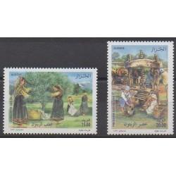 Algeria - 2009 - Nb 1549/1550 - Gastronomy