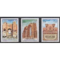 Algeria - 2009 - Nb 1535/1537 - Monuments