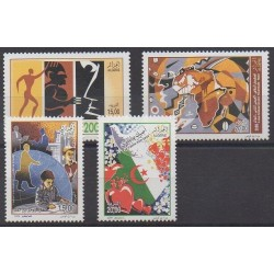 Algeria - 2009 - Nb 1538/1541