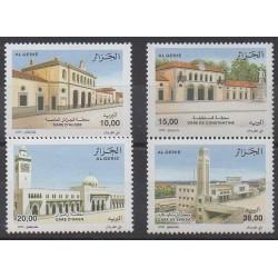 Algérie - 2008 - No 1498/1501 - Chemins de fer