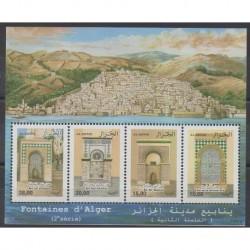 Algeria - 2008 - Nb 1489/1492 - Sights