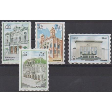 Algérie - 2007 - No 1479/1482 - Monuments