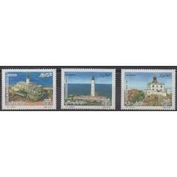 Algeria - 2007 - Nb 1458/1460 - Lighthouses