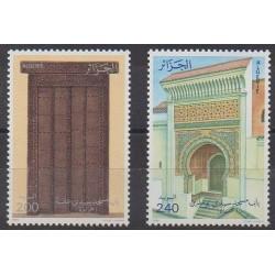 Algeria - 1986 - Nb 876/877 - Monuments