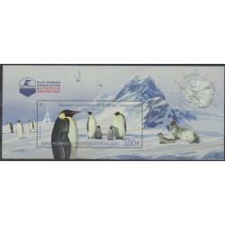 French Southern and Antarctic Lands - Blocks and sheets - 2021 - Nb BF Traité de l'Antarctique - Polar