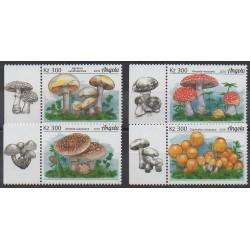 Angola - 2018 - Nb 1740/1743 - Mushrooms