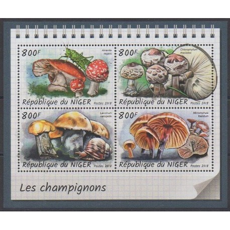 Niger - 2018 - No 4753/4756 - Champignons
