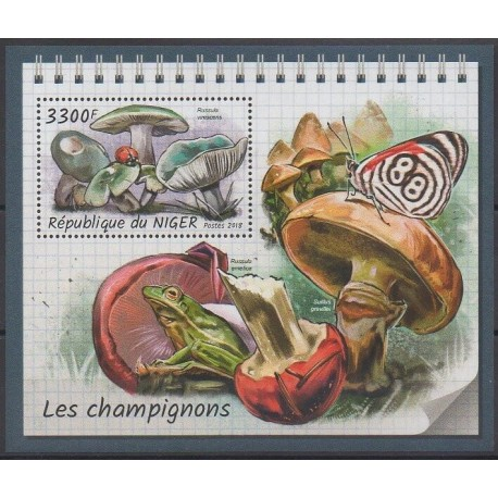 Niger - 2018 - No BF899 - Champignons
