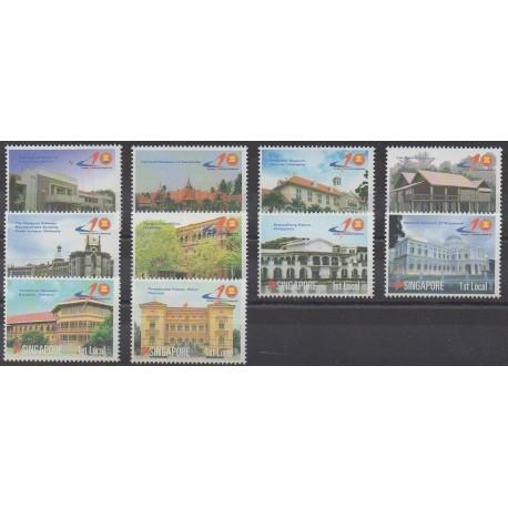 Singapour - 2007 - No 1557/1566 - Monuments