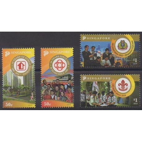 Singapour - 2010 - No 1740/1743