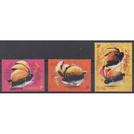 Singapour - 2011 - No 1804/1806 - Horoscope