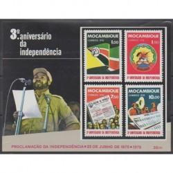 Mozambique - 1978 - Nb BF3 - Various Historics Themes