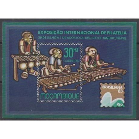 Mozambique - 1983 - No BF14 - Musique - Philatélie