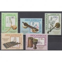 Mozambique - 1981 - No 796/800 - Musique