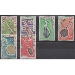 Niger - 1971 - Nb 250/255 - Music