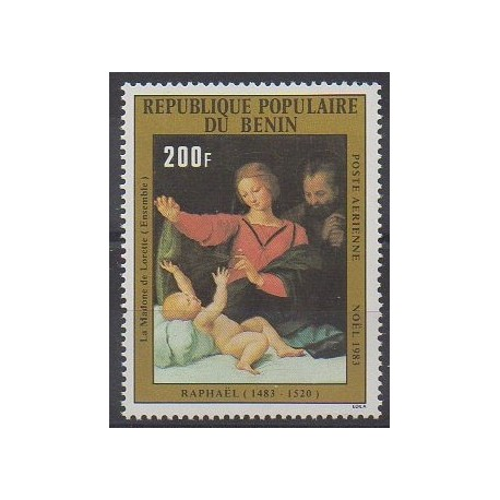 Bénin - 1983 - No PA321 - Peinture