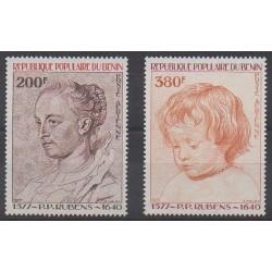 Benin - 1977 - Nb PA283/PA284 - Paintings