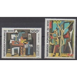 Benin - 1981 - Nb PA298/PA299 - Paintings