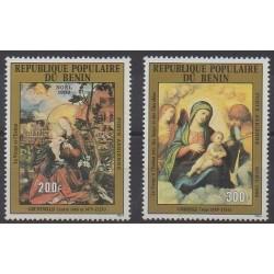 Benin - 1982 - Nb PA307/PA308 - Paintings - Christmas