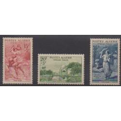 Algérie - 1957 - No 346/348