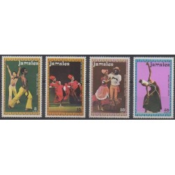 Jamaica - 1974 - Nb 391/394 - Music