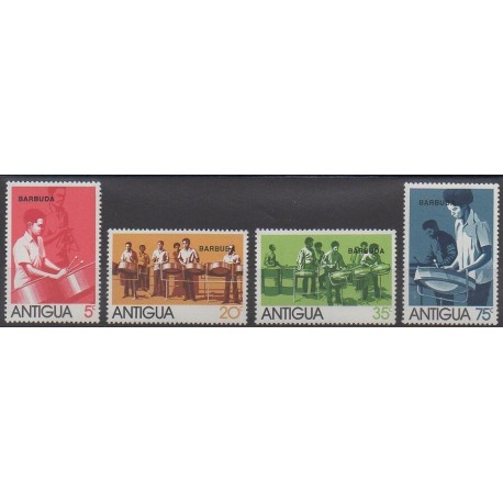 Barbuda - 1974 - No 161/164 - Musique