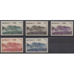 Monaco - 1939 - Nb 195/199 - Various sports