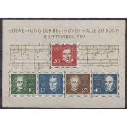 West Germany (FRG) - 1959 - Nb BF1 - Music