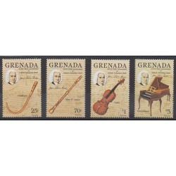 Grenade - 1985 - Nb 1261/1264 - Music