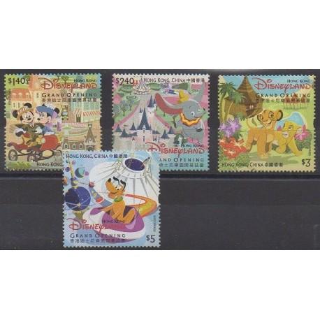 Hong-Kong - 2005 - No 1232/1235 - Walt Disney